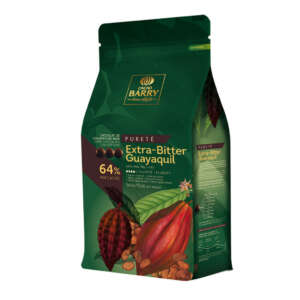 Cacao Barry Pistoles Chocolate Dark Guayaquil 64%