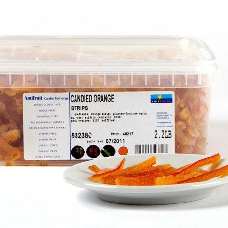 Amifruit Orange Peel Candied Strips