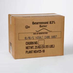 Beurremont Butter 83% Bulk Box