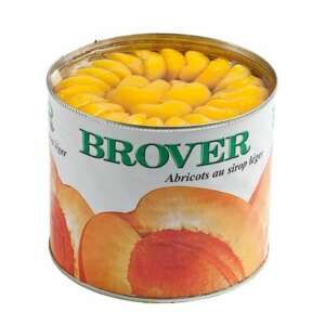 Brover Apricot Halves in Syrup Morrocan