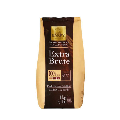 Cacao Barry Chocolate Cocoa Powder Brut 22-24%
