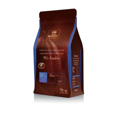 Cacao Barry Pistoles Chocolate Dark Mi-Amère 58%