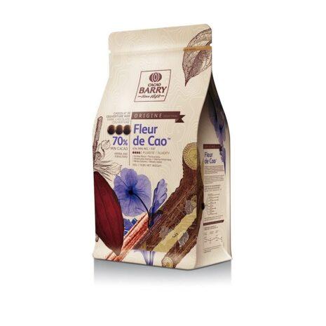 Cacao Barry Pistoles Dark Fleur De Cao 70%