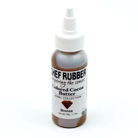 Chef Rubber Jewel Bronze Cocoa Butter Color