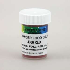 Chefmaster Colors Red Powder Color