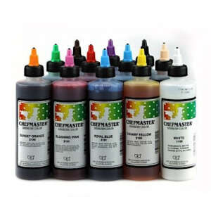 Chefmaster Colors Airbrush Colors Set (12)