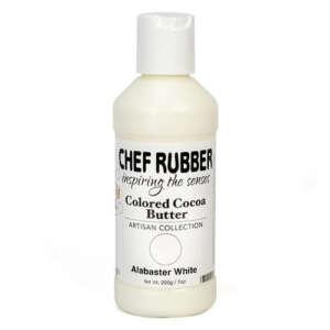Chef Rubber Alabaster White Cocoa Butter Color