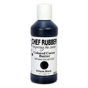 Chef Rubber Eclipse Black Cocoa Butter Color