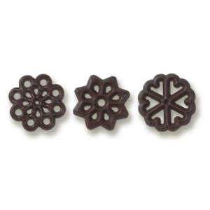 "Dobla Round Decorettes 1.3"" Assorted (3)"