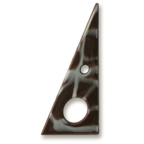 "Dobla Triangle Tramontana Mrbl 1.8"" × 3.8"