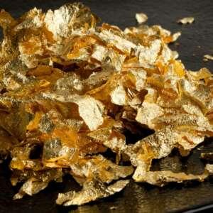 Easy Leaf Gold Petals w/ tweezers