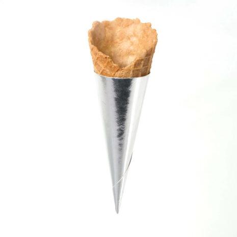 """Moda Cone Mini Savory 2.87"""" w/ Foil Cup"""