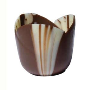 "Mona Lisa Cup Tulip Marbled 1.5"" × 1.4"""