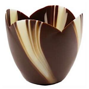 "Mona Lisa Cup Tulip Marbled 2.8"" × 2.6"""