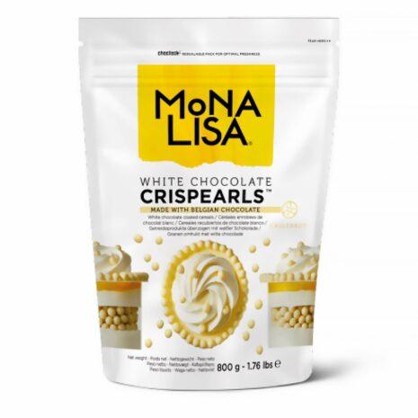 Mona Lisa Crispearl White