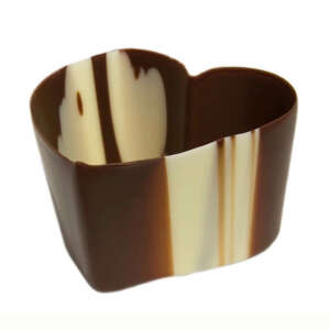 """Mona Lisa Cup Heart Marbled 2.3"""" × 1.5"""""""
