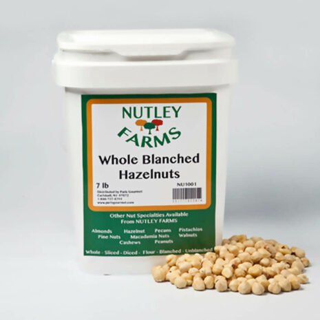 Nutley Farms Hazelnuts Whole Blanched