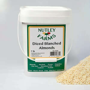 Nutley Farms Almonds Diced Blanched California