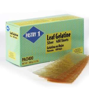 Pastry 1 Gelatin Sheet Silver 170bl 400