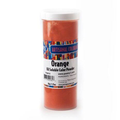 Pastry 1 Orange Powder Color