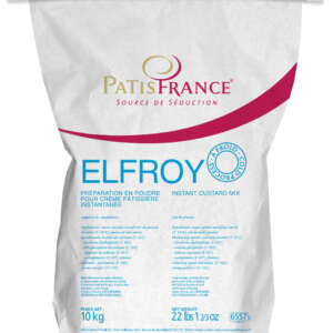 PatisFrance Elfroy Custard Cream Cold Proc