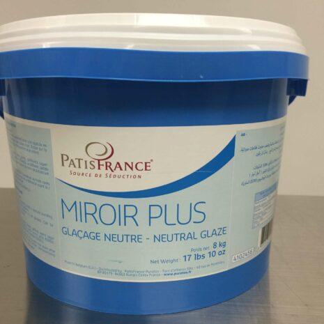 PatisFrance Miroir + Neutral Glaze