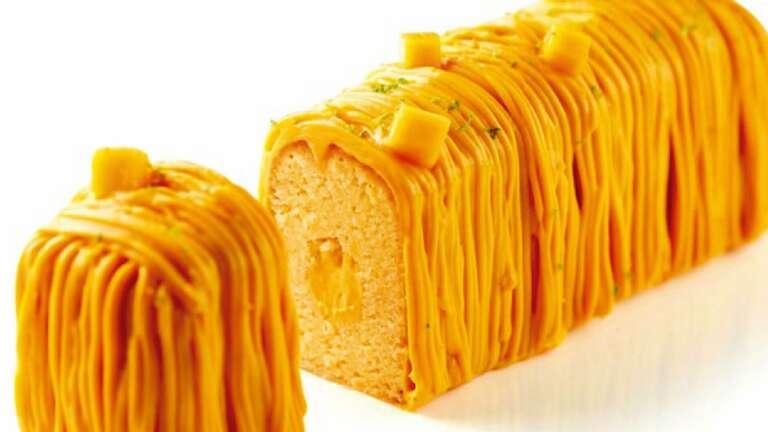 Whole Wheat Mango Cake
