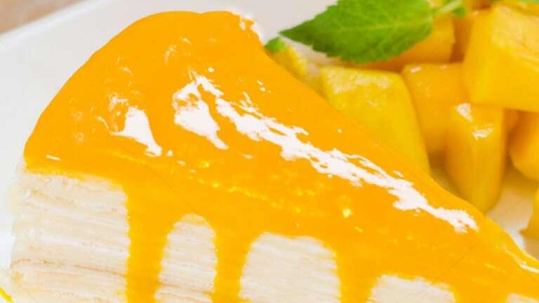 No-Bake Mango Passion Cheesecake