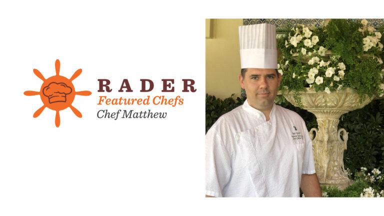 Chef Feature- Matthew Ratliff